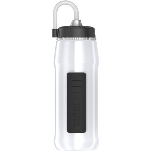 Thermos 24 oz. Squeezable Helmet Hydration Bottle with Long Straw - White