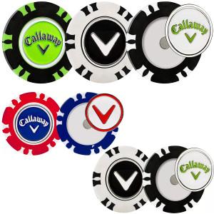 Callaway Dual-Mark Poker Chip Golf Ball Marker