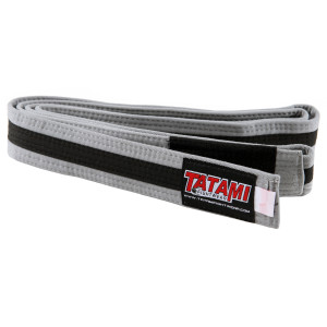 Tatami Fightwear Kids BJJ Rank Gray/Black Belt