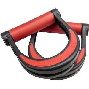 Lifeline USA Exercise Fitness Training PowerArc Handles - Black/Red