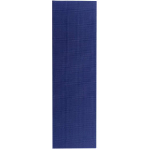 Lifeline USA Natural Fitness Warrior 6mm Yoga Mat - Midnight Blue