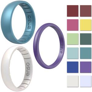 Enso Rings Birthstone Series Silicone Ring