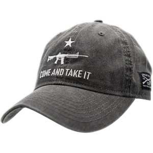 Grunt Style Come And Take It 2A Edition Hat - Charcoal