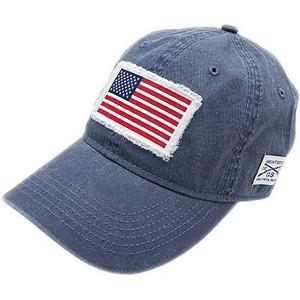 Grunt Style Full Color Flag Hat - Blue