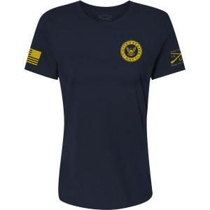 Grunt Style Women's Relaxed Fit USN - Navy Colors T-Shirt - Navy