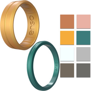 Enso Rings Contour Elements Series Silicone Ring