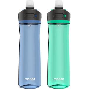 Contigo 24 oz. Ashland 2.0 Tritan Water Bottle 2-Pack - Blue Corn/Coriander