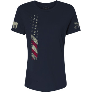 Grunt Style Women's Relaxed Fit True Colors T-Shirt - Navy