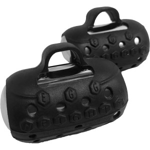 Egg Weights Cardio Max 3.0 lb Set, Weighted Yoga Shadow Boxing Gloves Dumbbells