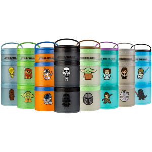Whiskware Star Wars Stackable Snack Pack Containers