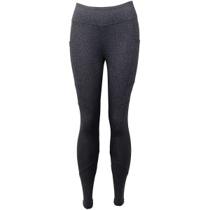 FitKicks Crossovers Active Lifestyle Leggings - Gray
