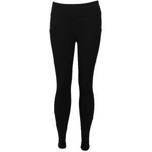 FitKicks Crossovers Active Lifestyle Leggings - Black