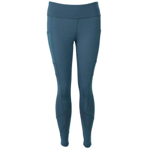 FitKicks Crossovers Active Lifestyle Leggings - Teal
