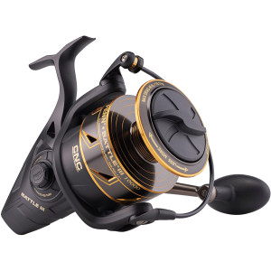 Penn Battle III Spinning Fishing Reel - Black/Gold