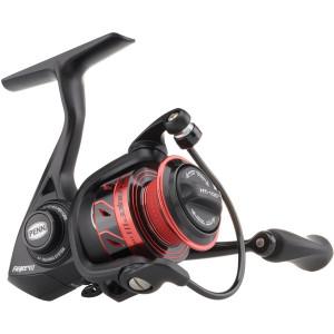Penn Fierce III Spinning Fishing Reel - Black/Red