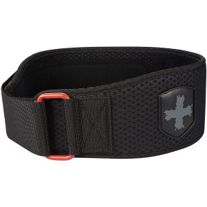 """Harbinger HexCore 4.5"""" Weight Lifting Belt - Red"""