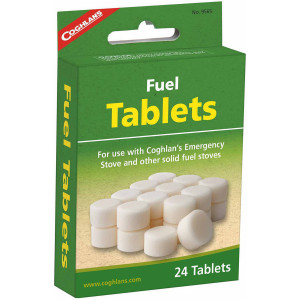 Coghlan's Fuel Tablets (24 Pieces), for Emergency Stoves, Camping Survival Kit