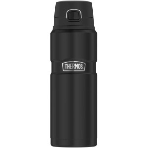 Thermos 24 oz. Vacuum Insulated Stainless Steel Beverage Bottle - Matte Black