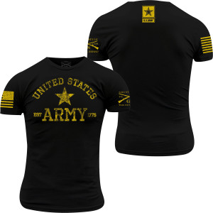 Grunt Style Army - Est. 1775 T-Shirt - Black