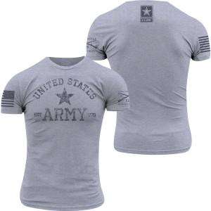 Grunt Style Army - Est. 1775 T-Shirt - Heather Gray