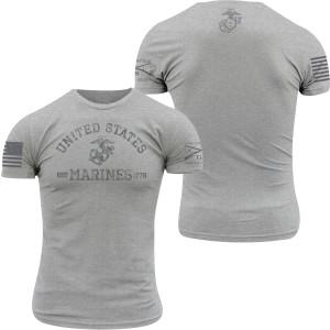 Grunt Style USMC - Est. 1775 T-Shirt - Athletic Heather
