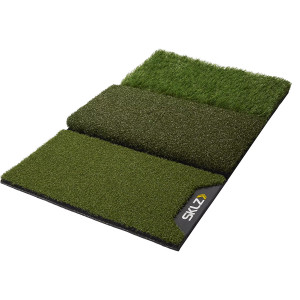 SKLZ Pure Practice 3-Surface Training Golf Mat