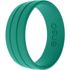 Enso Rings Ultralite Series Silicone Ring - Vibrant Green