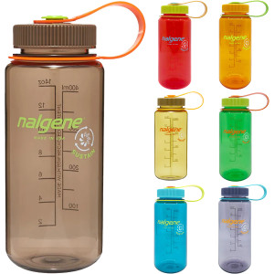 Nalgene 16 oz. Wide Mouth Sustainable Water Bottle