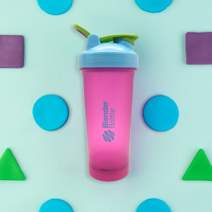 Blender Bottle Special Edition Classic 28 oz. Shaker with Loop Top - Grape Shape