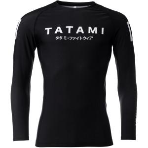 Tatami Fightwear Katakana Long Sleeve Rashguard - Black