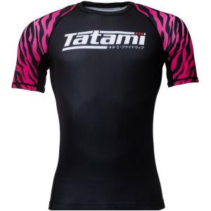 Tatami Fightwear Recharge Short Sleeve Rashguard - Pink