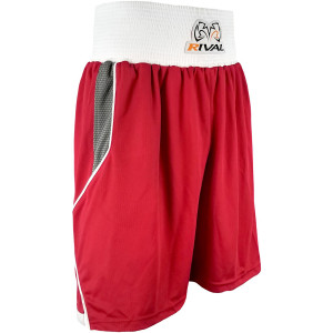 Rival Boxing Amateur Competition Boxing Trunks - Red