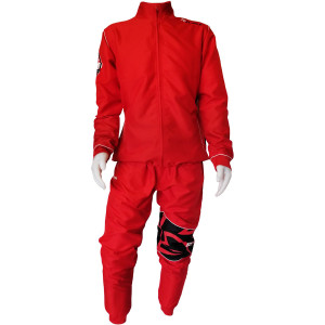 Rival Boxing Elite Active Tracksuit with Collar - Red