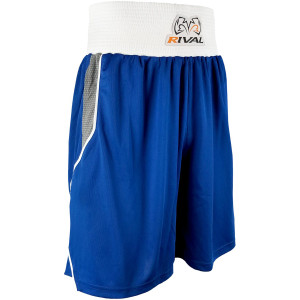 Rival Boxing Amateur Competition Boxing Trunks - Blue