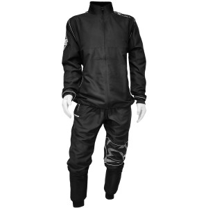 Rival Boxing Elite Active Tracksuit with Collar - Black