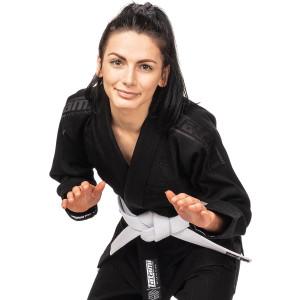 Tatami Fightwear Women's Estilo Black Label BJJ Gi - Black/Black