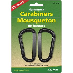 Coghlan's Heavy Duty Hammock Carabiners - 2-Pack