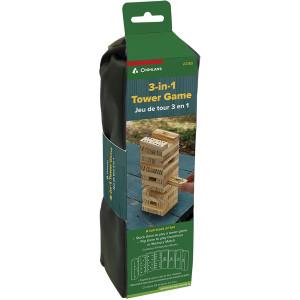 Coghlan's 3-in-1 Tower Game Set