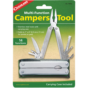 Coghlan's Multifunctional Camper's Tool with Case