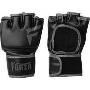 Forza Sports Vinyl Training Gloves - Black/Gray