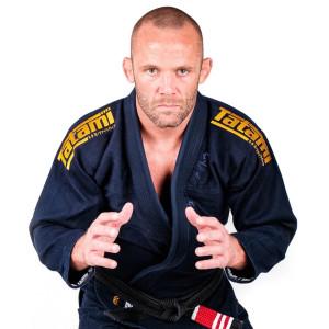 Tatami Fightwear Estilo Black Label BJJ Gi - Gold/Navy