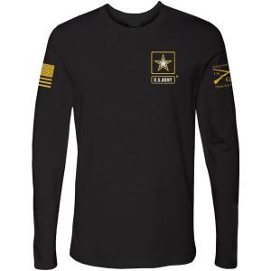 Grunt Style Army - Basic Full Logo Long Sleeve T-Shirt - Black