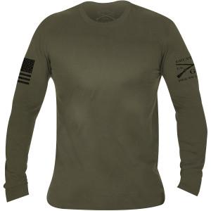 Grunt Style Basic Long Sleeve T-Shirt - Military Green