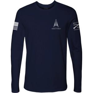 Grunt Style USSF - Basic Logo Long Sleeve T-Shirt - Midnight Navy