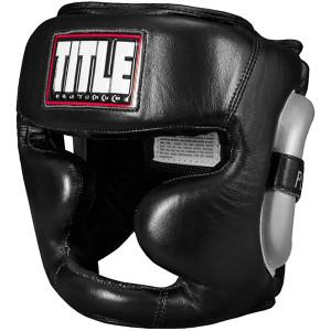 Title Boxing Platinum Premier Full Training Headgear 2.0 - Black