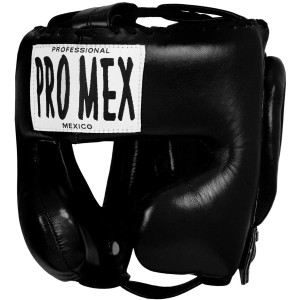 Title Boxing Pro Mex Pro Facesaver Headgear 3 - Black