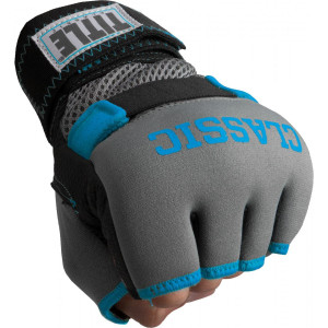Title Boxing Classic Limited GEL-X Glove Wraps - Gray/Electric Blue