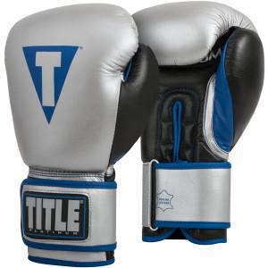 Title Boxing Platinum Perilous Pro-Style Bag Gloves