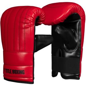 Title Boxing Old School Bag Gloves 3.0 - Red/Black