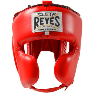 Cleto Reyes Cheek Protection Boxing Headgear - Red